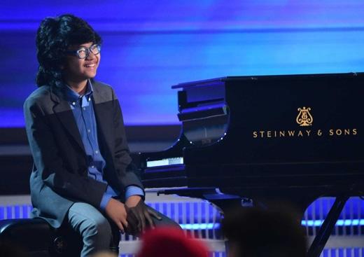 Joey Alexander, nghệ sĩ piano jazz 12 tuổi.(Ảnh: Getty Images)