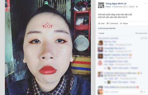 Nhiều người nhận xét khuôn mặt Trang Hý chỉ cần nhìn thôi là đã muốn bật cười, chưa nói đến những biểu cảm, lời nói của cô. (Ảnh: Internet)