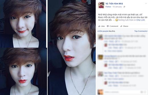 Hot girl hài Kim Nhã cũng là một nhân vật thành công nhờ mạng xã hội. (Ảnh: Internet)