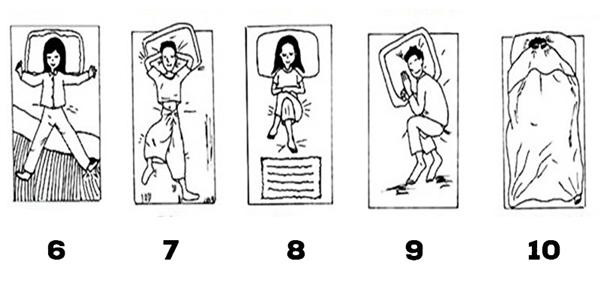 Các tư thế ngủ tiết lộ tính cách bên trong bạn. (Ảnh: Internet)