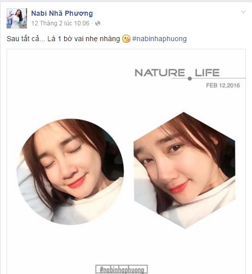 Những hình ảnh nhẹ nhàng, đằm thắm của Nhã Phương trên trang cá nhân trong một ngày gần đây. (Ảnh: Internet) - Tin sao Viet - Tin tuc sao Viet - Scandal sao Viet - Tin tuc cua Sao - Tin cua Sao