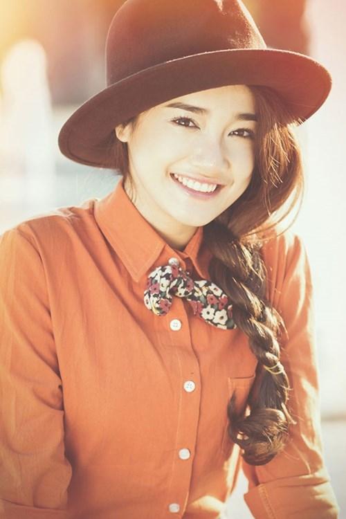 Nụ cười đẹp như một thiên thần khiến nhiều người tin chắc Nhã Phương là một cô gái rất đáng mến. (Ảnh: Internet) - Tin sao Viet - Tin tuc sao Viet - Scandal sao Viet - Tin tuc cua Sao - Tin cua Sao