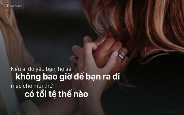 Vì tình yêu còn là không ai muốn bỏ đi.