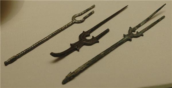 Hình dạng của những chiếc nĩa thời Hy Lạp cổ đại.(Ảnh: Internet)