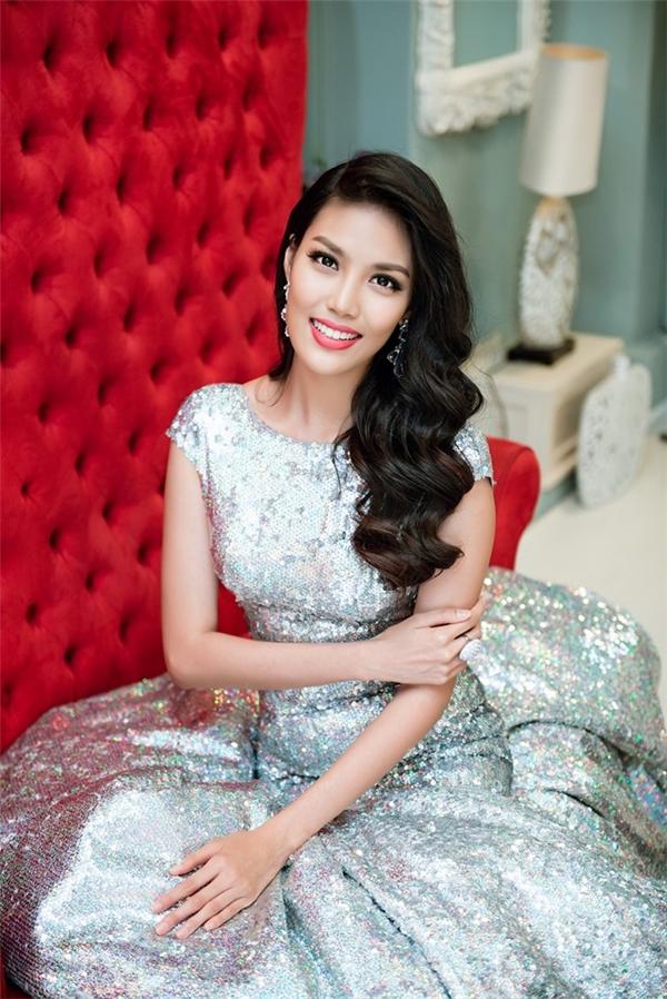 Lan Khuê - top 11 Hoa hậu Thế giới 2015