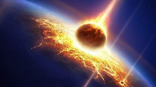 Liệu chúng ta có phải đối mặt với sự tấn công từ vũ trụ? (Ảnh: Internet)