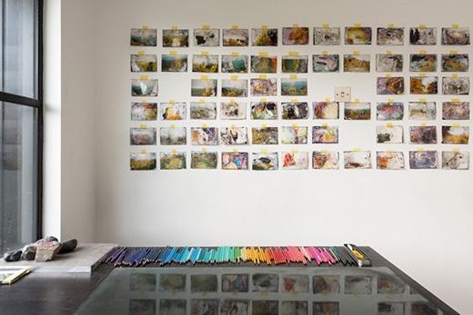 Không biết đây là phòng triển lãm tranh nghệ thuật hay triển lãm bút chì.(Ảnh: Bored Panda)