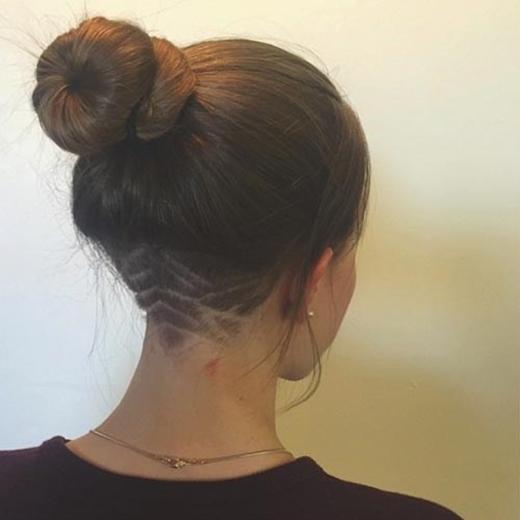 """Và bây giờ, trào lưu cạo tóc gáy lại làm """"điên đảo"""" giới trẻ trên toàn thế giới.(Ảnh: Internet)"""