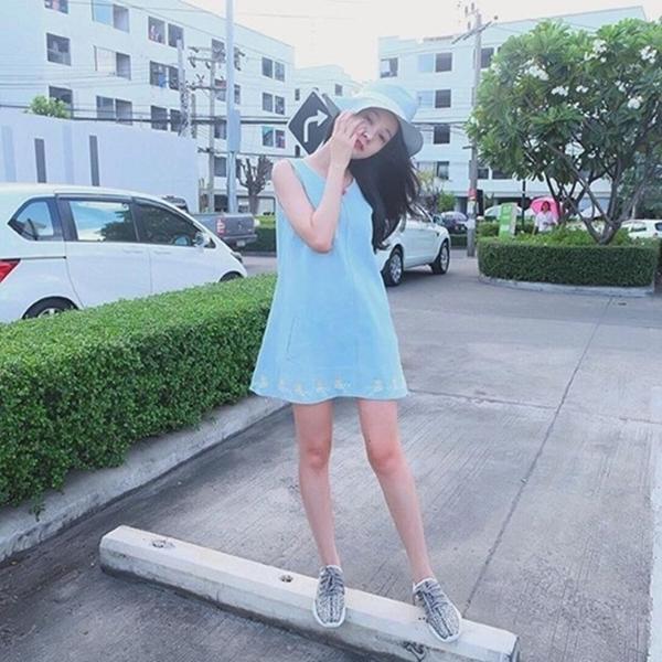Cô gái Thái Lan được ví von là thiên thần trên mạng