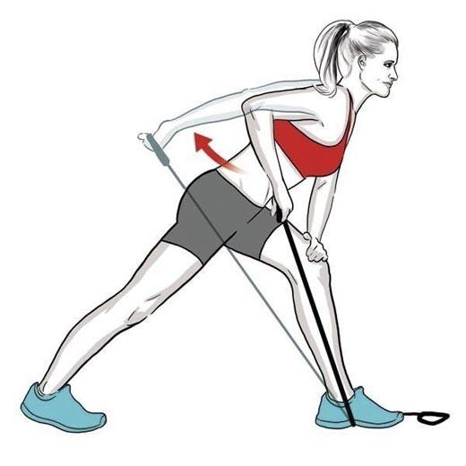Tay phải kết hợp với chân trái và ngược lại tay trái với chân phải. (Ảnh: Internet)