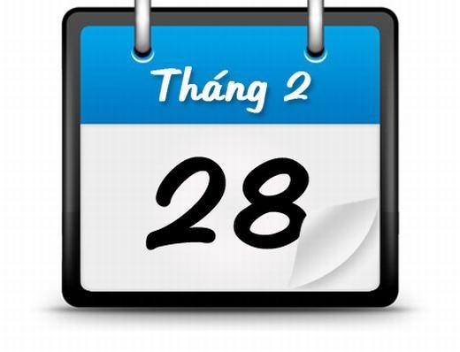 Vì sao tháng 2 lại có 28 ngày? (Ảnh: Internet)