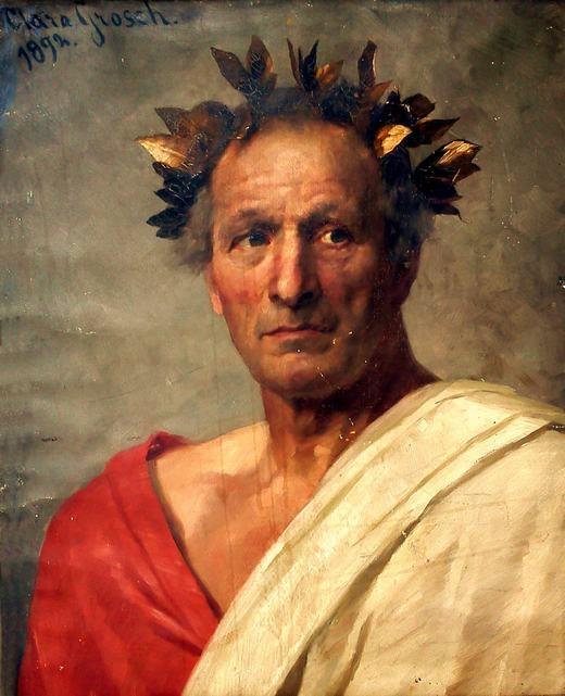 Hoàng đế Caesar. (Ảnh: Internet)
