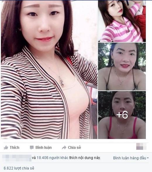 Hàng chục ngàn lượt thích, chia sẻ cũng như bình luận của giới trẻ ngay sau khi những bức ảnh được đăng tải.(Ảnh: Internet)