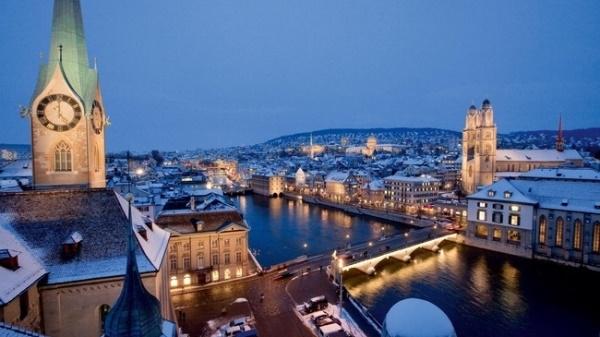 Zurich thường được đánh giá là nơi có chất lượng sống tương đối tốt.