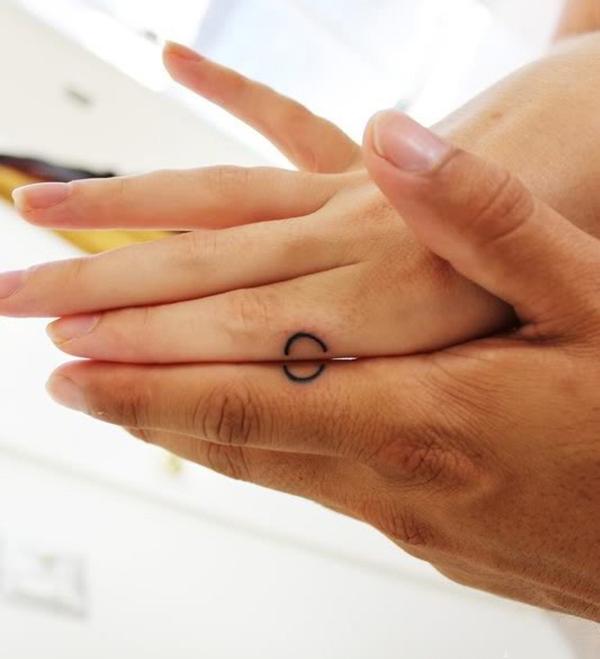 Anh và em, chúng ta đơn giản là một vòng tròn hoàn hảo. (Ảnh: Internet)