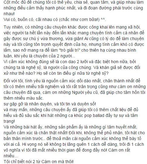 Minh Xù viết tâm thư giận hờn showbiz mang tình yêu ra đùa giỡn - Tin sao Viet - Tin tuc sao Viet - Scandal sao Viet - Tin tuc cua Sao - Tin cua Sao