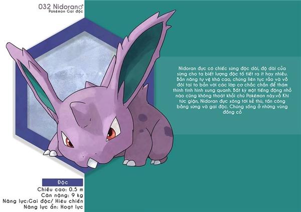 Nhớ tuổi thơ với bộ lí lịch siêu cool của dàn Pokemon thần thánh