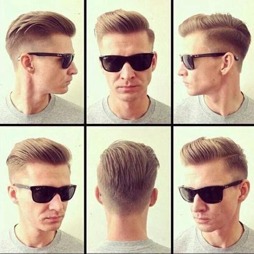 Khi mới đi cắt tóc về, nếu thấy hài lòng với quả đầu mới, hãy chụp lại nó ở mọi góc cạnh để lần sau thợ cắt tóc có thể cắt đúng kiểu tương tự. (Ảnh: Internet)