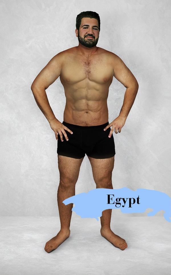 Đối với người Ai Cập, muốn đẹp là phải to cao cuồn cuộn như Lý Đức.
