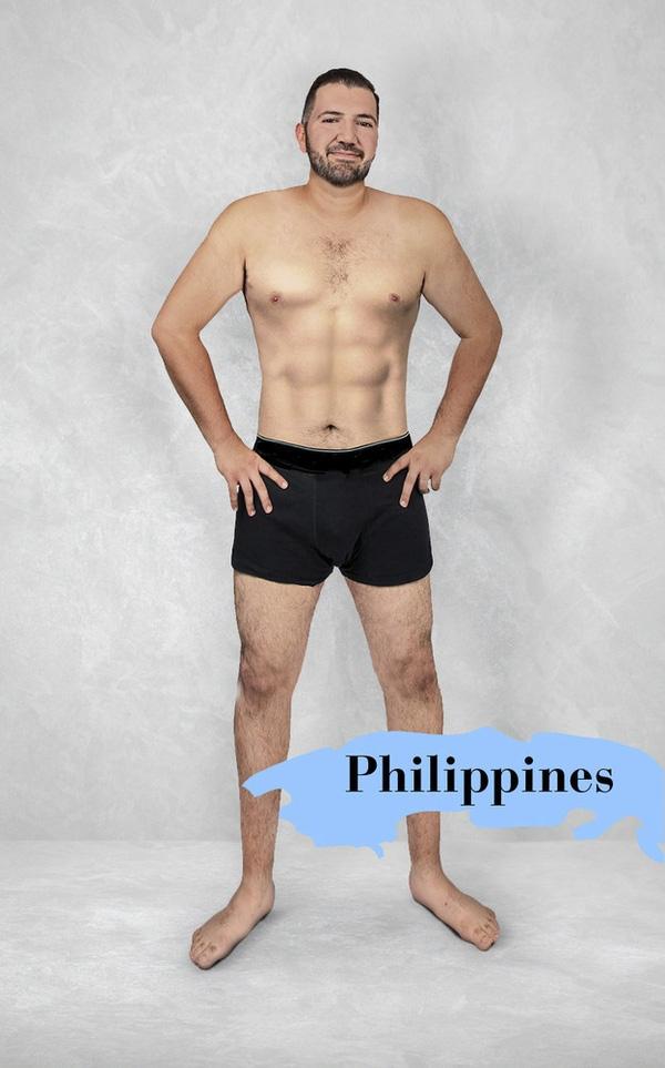 Nam giới Philippines nên có cơ bắp, cắt múi rõ ràng, nhất là bụng, phải đẹp như ca sỹ Hàn Quốc, không được to quá mới xứng đáng là hình mẫu trong mơ của mọi người.
