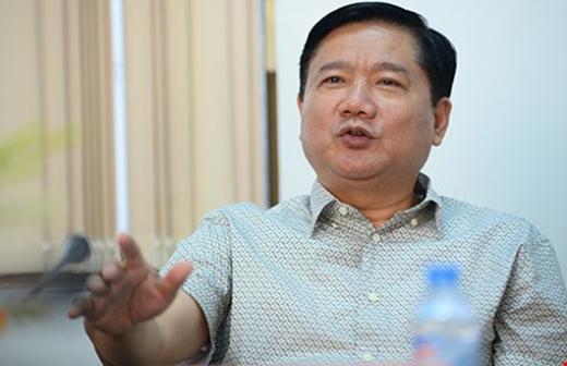 Bí thư Thành ủy TP.HCM Đinh La Thăng đang chỉ đạo tại buổi làm việc với huyện Củ Chi ngày 18-2. Ảnh: CTV