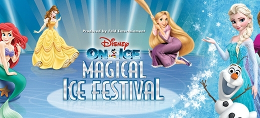 """Nếu các bạn nghĩ mình chỉ có thể """"gặp"""" được các công chúa trên màn ảnh nhỏ của Disney thôi thì các bạn đã nhầm to rồi nhé! Chúng ta hoàn toàn có thể gặp gỡ các công chúa, hoàng tử bằng xương bằng thịt và chìm đắm trong các câu chuyện cổ tích diệu kì với chương trình Disney On Ice presents Magical Ice Festival. Đây là một live tour với lịch sử hơn 30 năm, có mặt ở hơn 60 quốc gia trên các châu lục và thu hút hơn 5 triệu lượt khán giả tham dự."""