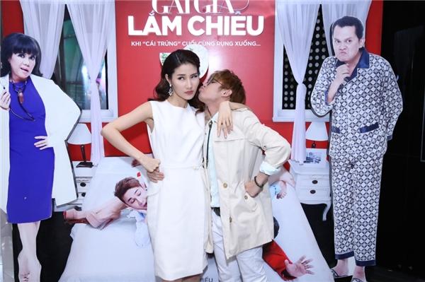Vắng Bình Minh, Huỳnh Lập ôm ấp và hôn má Diễm My - Tin sao Viet - Tin tuc sao Viet - Scandal sao Viet - Tin tuc cua Sao - Tin cua Sao