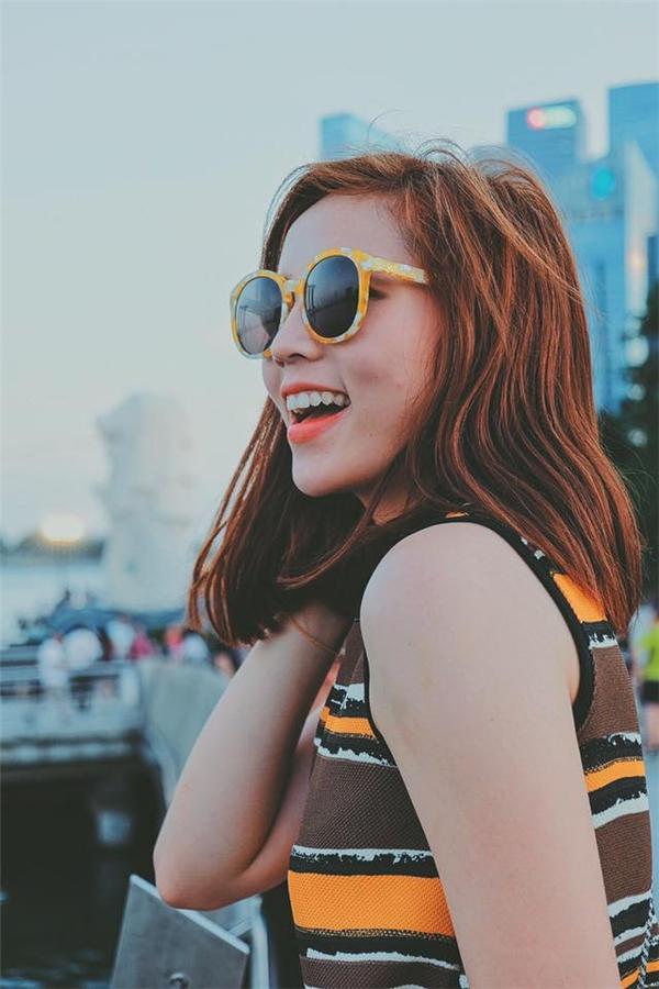 Cận cảnh gương mặt ngày càng sắc sảo, thu hút của Hoa hậu Việt Nam 2014.