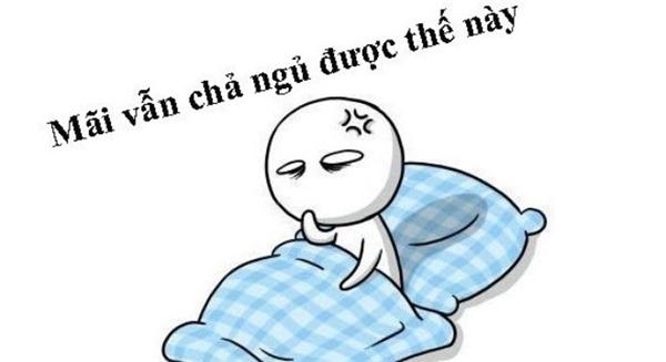 Vấn nạn khó ngủ, mất ngủ rất thường gặp hiện nay. (Ảnh: Internet)