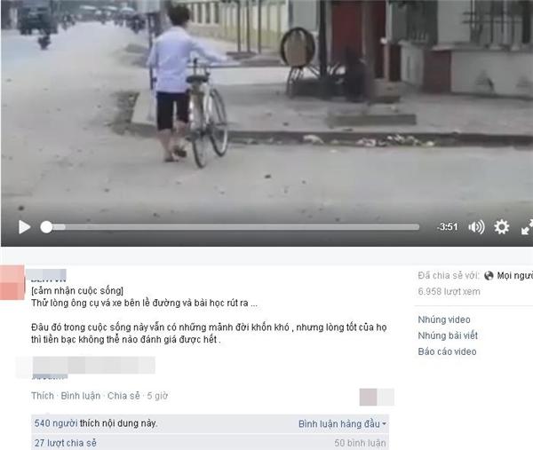 Đoạn clip đang được nhiều trang mạng chia sẻ. (Ảnh: Internet)
