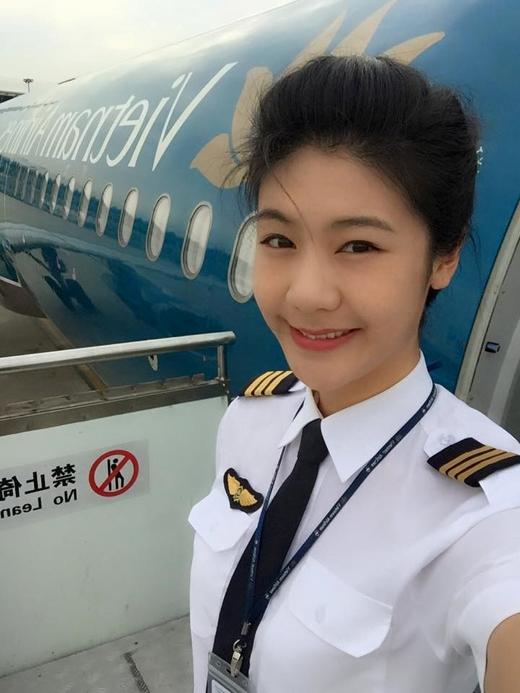 Sau khi tốt nghiệp, cô trở về Việt Nam và làm việc cho Vietnam Airlines.(Ảnh:Huỳnh Lý Đông Phương)