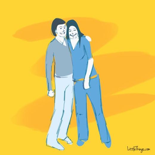 Cái ôm của bạn bè thân thiết(Ảnh:Heeral Chhibber)
