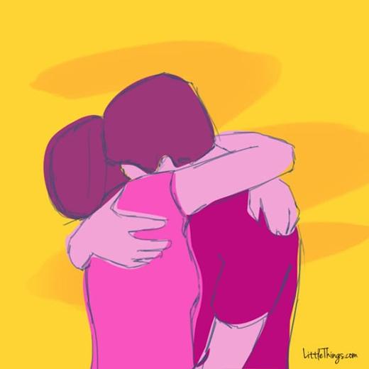 Cặp đôi ôm ghì lấy nhau thế này chứng tỏ không muốn rời xa đối phương dù chỉ một phút.(Ảnh:Heeral Chhibber)