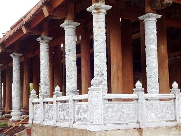 Một góc nhà thờ chính đã hoàn thiện. Ảnh: Dương Cầm - Tin sao Viet - Tin tuc sao Viet - Scandal sao Viet - Tin tuc cua Sao - Tin cua Sao