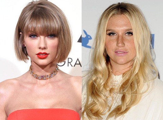 Taylor đã có một hành động hết sức ấn tượng nhằm ủng hộ cho đồng nghiệp Kesha. (Ảnh: Getty Images)