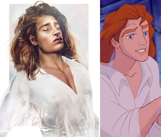 """Thoạt nhìn thì có vẻ như chàng hoàng tử Adam của """"Người đẹp và quái vật"""" hội tụ đầy đủ các tiêu chuẩn của một soái ca: đẹp trai, nhà có điều kiện, có nhiều tài lẻ,… Nhưng nếu """"soi"""" kỹ thì tính cách của chàng hoàng tử này hơi có vấn đề. Chính những hành vi ích kỉ đã khiến anh chàng gặp phải rắc rối. Khi đã bị nguyền rủa, anh chàng cũng không thay đổi và thậm chí còn thể hiện sự độc tài khi giam giữ Belle làm tù nhân. Có thể nói nếu không nhờ Belle kiên nhẫn và vị tha để làm anh chàng thay đổi thì có lẽ hoàng tử sẽ mãi mãi là quái vật."""