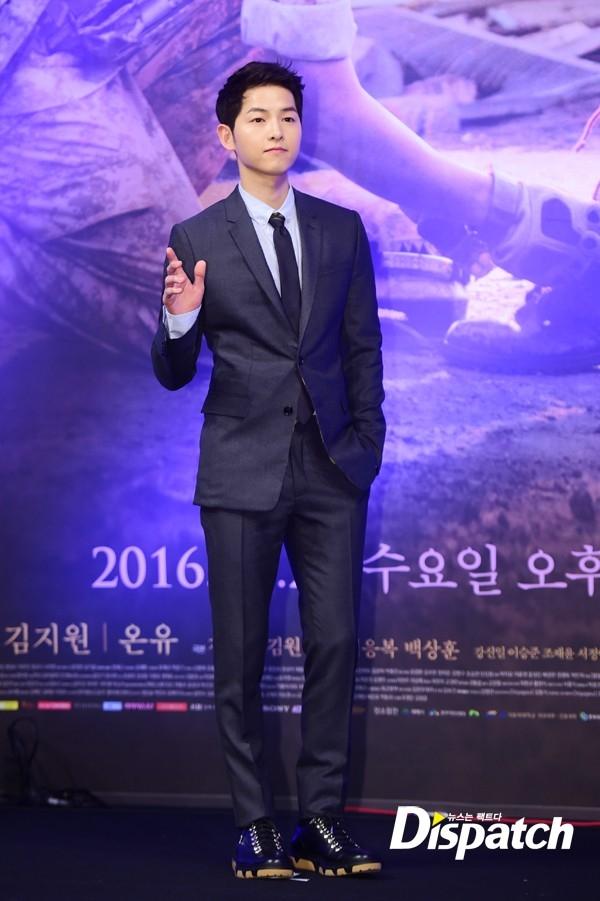 Song Joong Ki hào hứng khi được yêu Song Hye Kyo