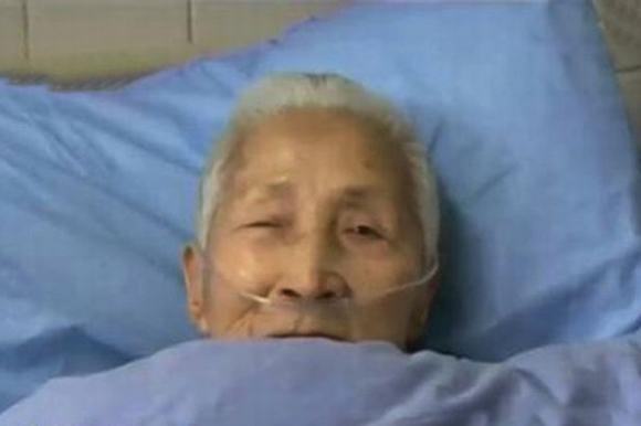 Cụ bà Liu Jieyu. (Ảnh: Internet)