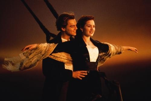 Ai cũng nhớ về chuyện tình đẹp của Jack và Rose.