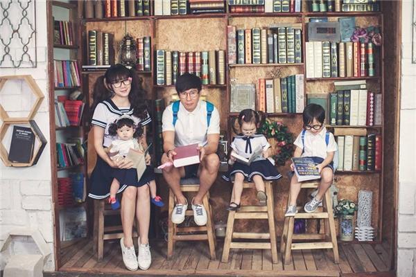 Vợ chồng Lý Hải – Minh Hà thường xuyên khoe ảnh gia đình hạnh phúc. - Tin sao Viet - Tin tuc sao Viet - Scandal sao Viet - Tin tuc cua Sao - Tin cua Sao