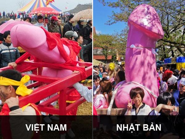 Một số người xem cho biết, tàng thinh giống linh vật trong các lễ hội ở Nhật Bản
