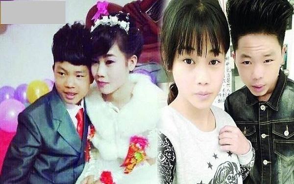 Cô dâu có vẻ trưởng thành hơn chú rể. (Ảnh: Internet)