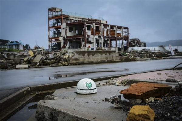 Quang cảnh đầy tang thương tại tỉnh Miyagi, Nhật Bản vào ngày 21/8/2011 – 6 tháng sau trận sóng thần kinh hoàng. (Ảnh: Egadolfo/iStock)