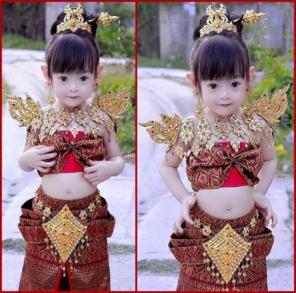 Cô bé này đã giải thích vì sao Thái Lan có nhiều mĩ nhân đến vậy