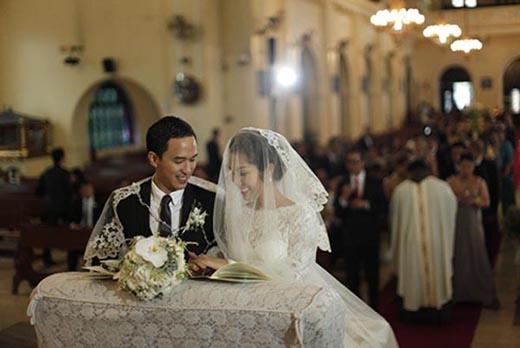 Như để xoa dịu người hâm mộ vì không khoe ảnh cục cưng, Tăng Thanh Hà đã thay vào đó công khai một vài hình ảnh khác trong tiệc cưới đẹp tuyệt vời tổ chức tại Phillipines. (Ảnh: Internet) - Tin sao Viet - Tin tuc sao Viet - Scandal sao Viet - Tin tuc cua Sao - Tin cua Sao