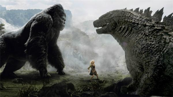 Kong: Skull Island được công chúng yêu điện ảnh xem là phần tiếp theo của tác phẩmGodzilla- Kong từng làm mưa làm gió trước đó. (Ảnh: Internet)