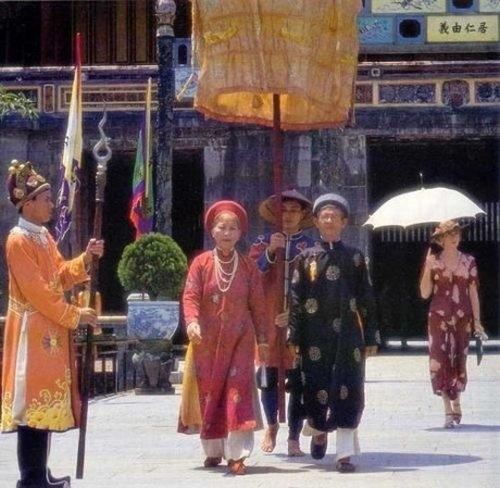 Cung điện Huế ấn tượng trongĐông Dương