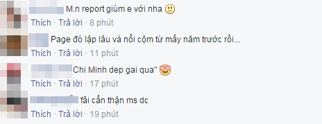 Sau khi biết được tình hình chính xác, cộng đồng fan của Thu Minh đã cùng nhau báo cáo sai phạm của tài khoản nói trên để ban quản trị Facebook xử lí. - Tin sao Viet - Tin tuc sao Viet - Scandal sao Viet - Tin tuc cua Sao - Tin cua Sao