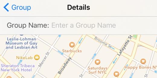 Đặt tên cho một nhóm: bấm vào nút Details ở bên phải màn hình rồi nhập tên cần đặt vào ô Group Name(Ảnh: wonderfulengineering)