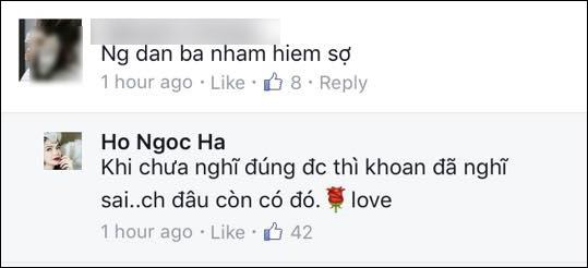 Cách trả lời đầy hàm ý và nhẹ nhàng của Hà Hồ nhận được nhiều sự ủng hộ từ các khán giả khác - Tin sao Viet - Tin tuc sao Viet - Scandal sao Viet - Tin tuc cua Sao - Tin cua Sao